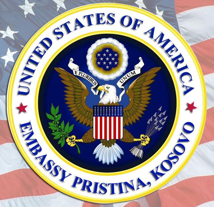 U.S. Embassy in Kosovo Logo