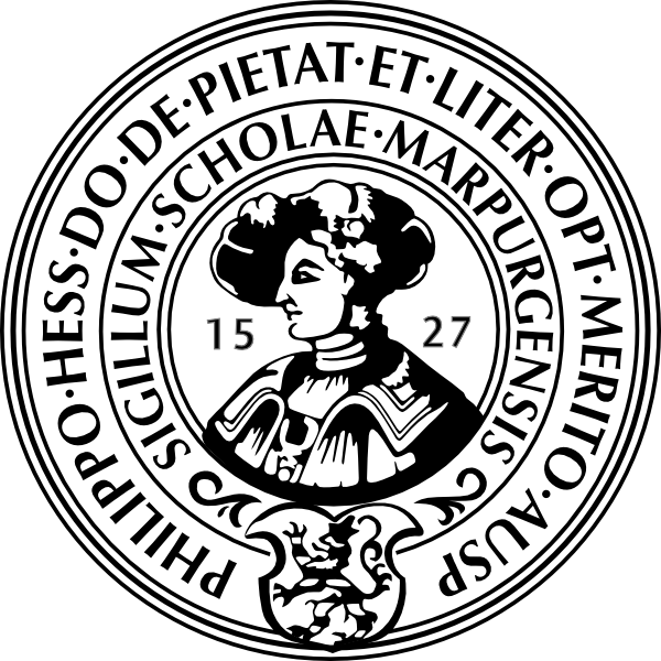 The Philipps University of Marburg (Philipps-Universität) Logo