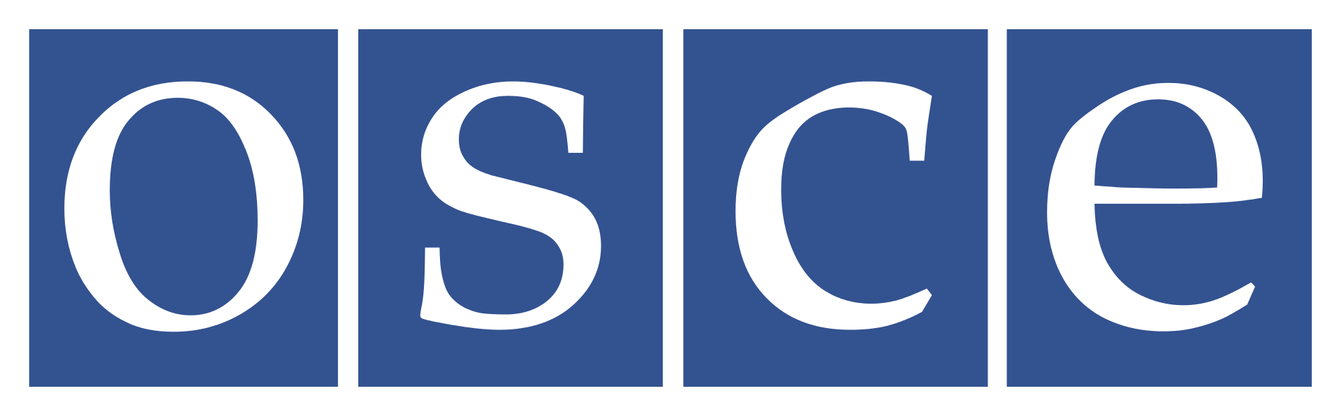 Organization for Security and Co-operation in Europe (OSCE) Logo